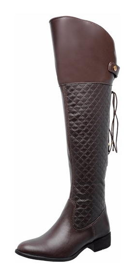 Bota Montaria Over The Knee Feminina Ref.: 961 P