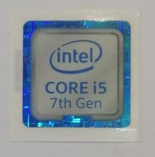 Adesivo Original Intel Core I5 7º Geração