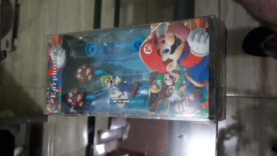 Fone De Ouvido Super Mario Tema Luigi