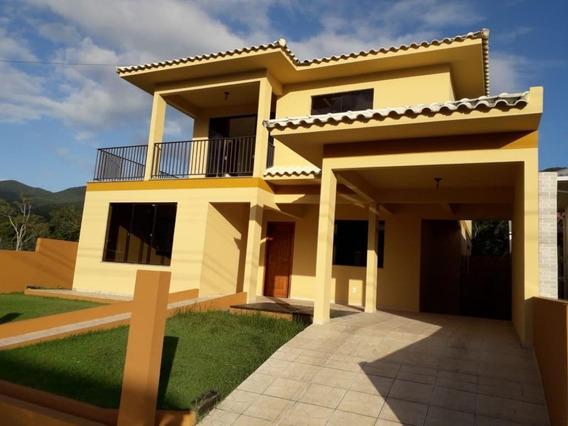 Casa Com 5 Dormitórios À Venda, 230 M² - Praia De Fora - Palhoça/sc - Ca2137