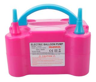 Bomba Para Inflar Globos Eléctrica Inflador De Aire *tienda*