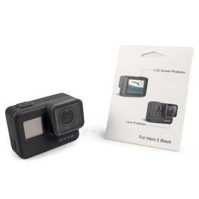 Película Proteção Lente E Tela Lcd Para Câmera Esportiva