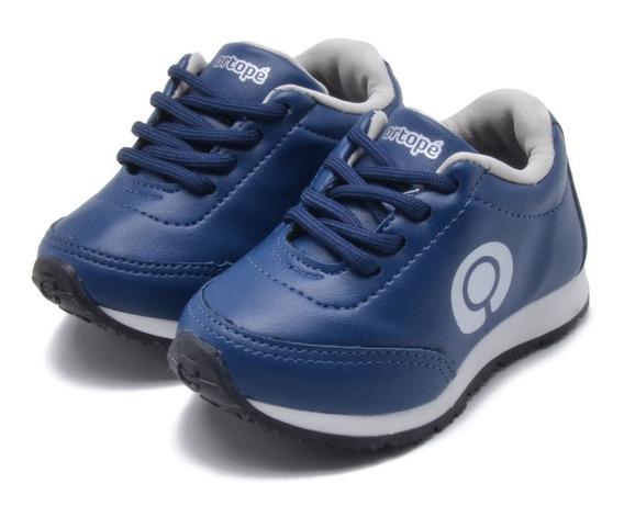 Tênis Ortopé Vintage Azul Infantil