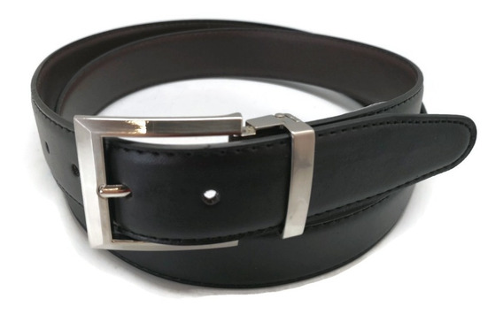 Cinturón Reversible Tipo Piel Caballero Tallas Extra 52 Xl