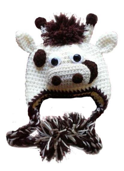 Gorros Tejidos Al Crochet Lanas Hipoalergenicas