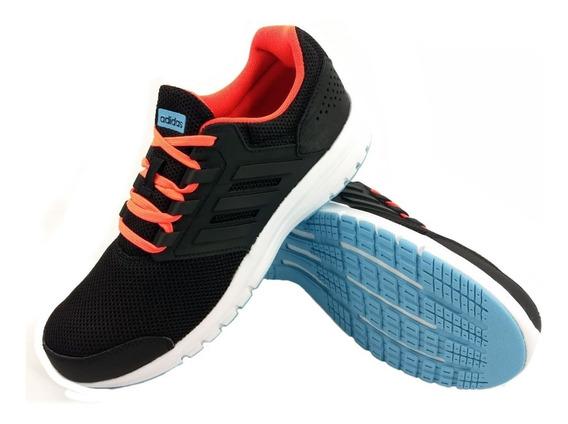 Zapatillas adidas Galaxy 4 Negro Running Niño Full Eezap