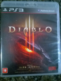 Diablo 3 Mídia Física Ps3 Original