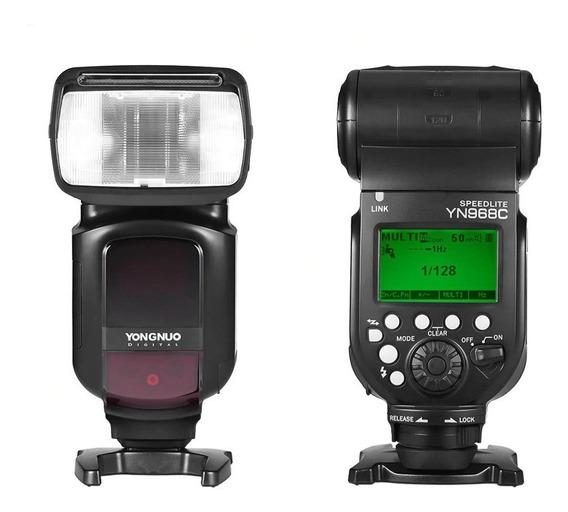 Flash Yongnuo Yn 968 Para Canon Lançamento Yn968ex - Rt