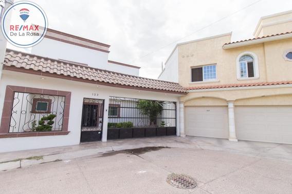 Casa En Venta Fraccionamiento Residencial Español Recamara En Planta Baja.