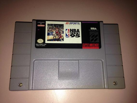 Nba Live 95 Super Nintendo Electronic Arts Original R$128,99