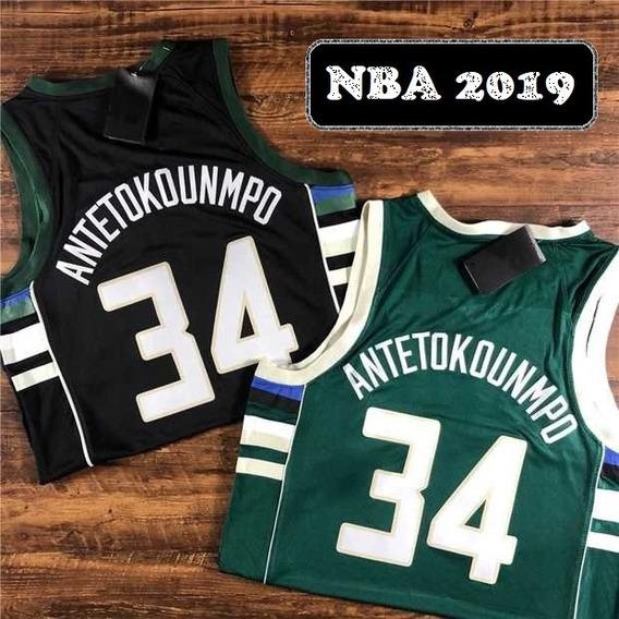 Antetokounmpo #34 Milwaukee Bucks - A Pedido