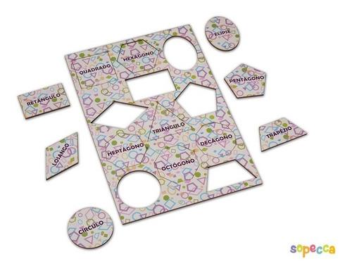 Imagem 1 de 4 de Presente Criativo Formas Geométricas Para Crianças