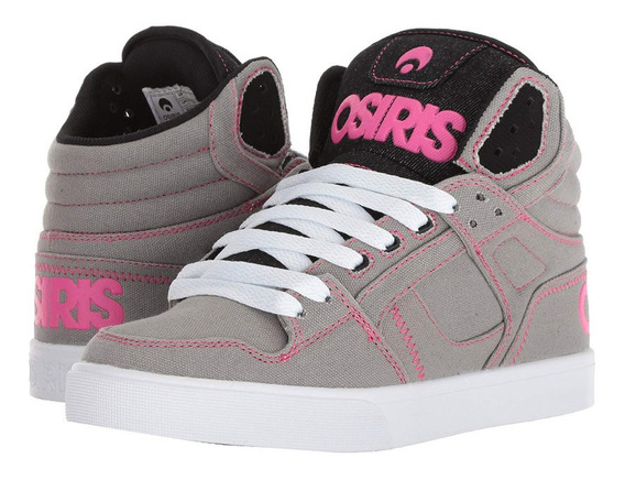 Zapatillas Osiris Clone Womens Grey Sale 30% Off