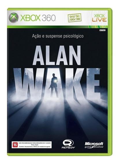 Alan Wake Xbox 360 Mídia Física Novo Lacrado
