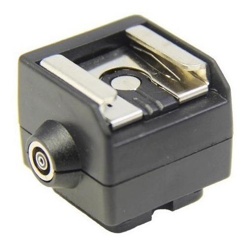 Adaptador Sapata P/ Flash C/ Saída Nikon Canon Hc-2