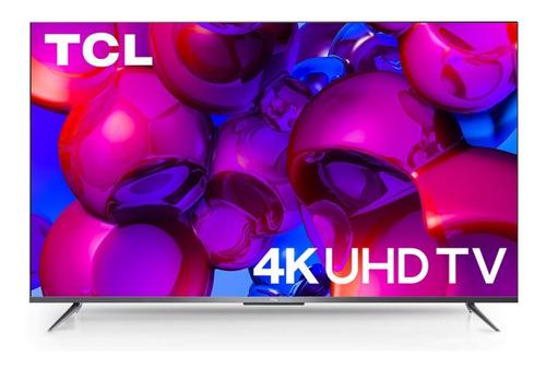 Imagen 1 de 5 de Smart Tv Tcl 65'' Quhd 4k 65p715 Android Tv Wifi - Cover Co