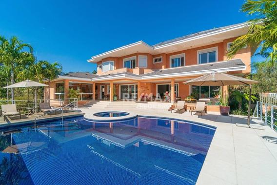 Casa Com 4 Quartos À Venda, 585 M² Por R$ 4.100.000 - Condomínio São Joaquim - Vinhedo/sp - Ca5342