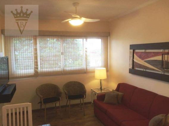 Apartamento Com 1 Dormitório À Venda, 42 M² Por R$ 480.000 - Moema - São Paulo/sp - Ap3666
