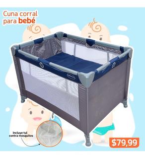 Cuna Corral Para Bebé Niño Excelente Precio