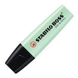 Resaltador Pastel Stabilo Boss Verde