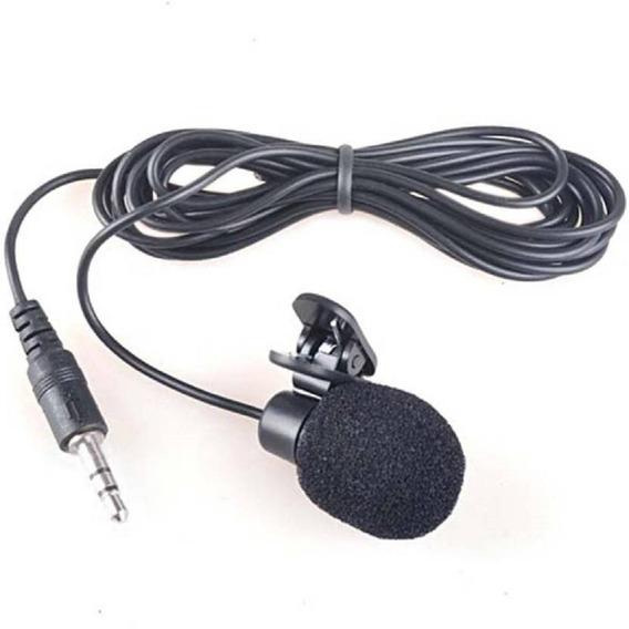Microfono Lavalier (solapa) 3.5mm 1.5mts Cámaras, Grabadoras