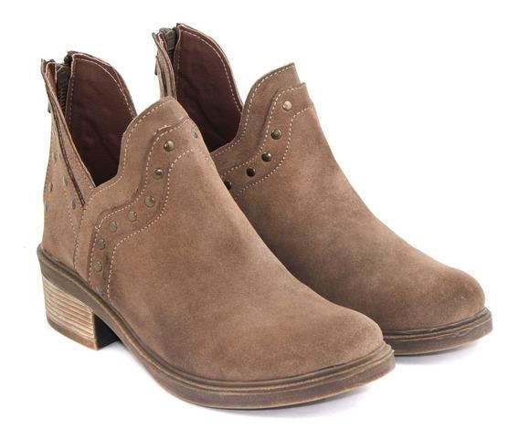 Botineta Botas Zapatos Cuero Gamuza Precio Fabrica Scarpe