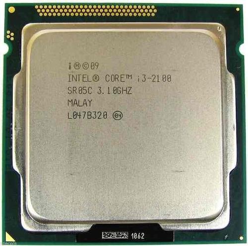 Imagem 1 de 6 de Processador Intel Core I3 2100 Lga 1155 + Pasta Termica
