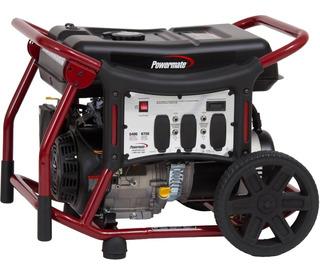 Generador Electrico Gas Planta Luz Portatil 5400w 120/240v