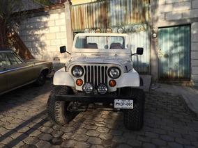 Se Remata Jeep Cj7 Con Placas De Autoantiguo