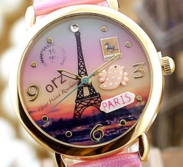 Relógio Feminino Miniwatches Hand Made 3 D Feito A Mao