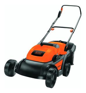 Cortadora de pasto eléctrica Black+Decker GR3850 con bolsa recolectora 1600W naranja y negra 200V