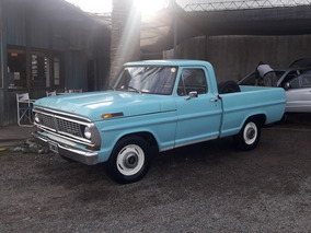 Ford F-100 6 Cil. Orig. 1er Due