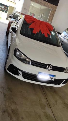Imagem 1 de 8 de Volkswagen Gol 2018 1.0 12v Trendline Total Flex 5p