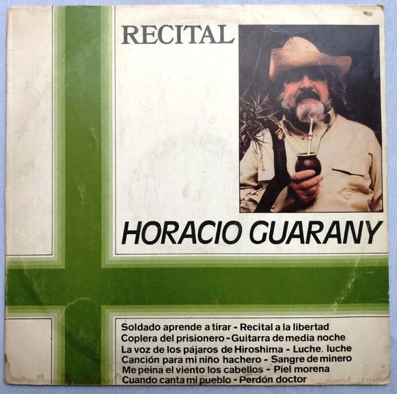 Horacio Guarany Recital Disco Vinilo Folclore Mercedes Sosa