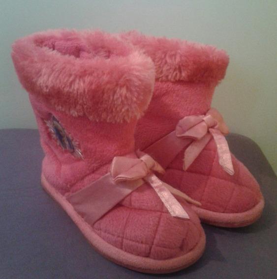 Bota Rosa Infantil Frozen