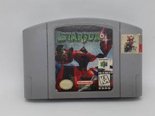 Juego Starfox N64 Nintendo 64 _la Retro!