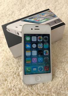 iPhone 4 8gb - Bom Estado (leia A Descrição-assista O Vídeo)