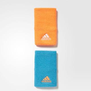 Muñequeras adidas Hombre Azul Naranja Ten Wb L S97883