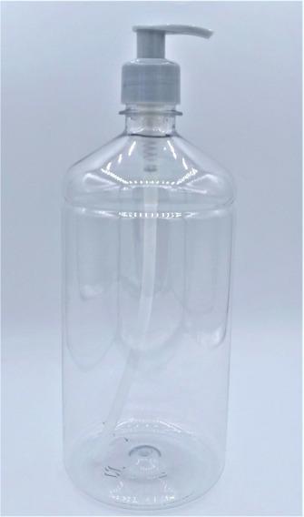10 Porta Álcool Gel Sabonete Frasco Pet 1 Litro Saboneteira
