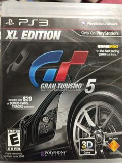 Juego Ps3 Gran Turismo Físico Original Usado