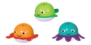 Tub Buddies Para Bañera Agua Juguete Bebe Baño Edu Shape