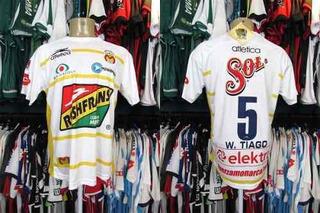 Monarcas 2009 Terceira Camisa Tamanho P Número 5.