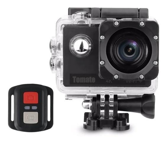 Câmera E Filmadora Esporte Tomate 4k + Wi-fi