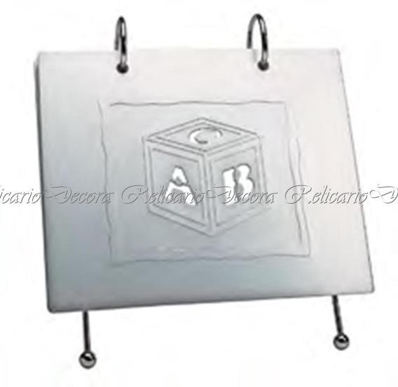 Album Porta Retrato Abc 10x15cm Com Suporte Lindo Design