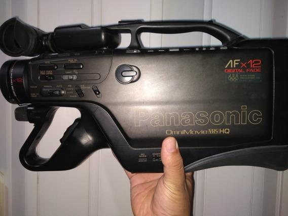 Filmadora Panasonic Vhs Omnimovie Afx12 Hq (usada)