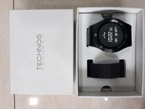 Relógio Technos Connect Sraf/1p Preto Display Led