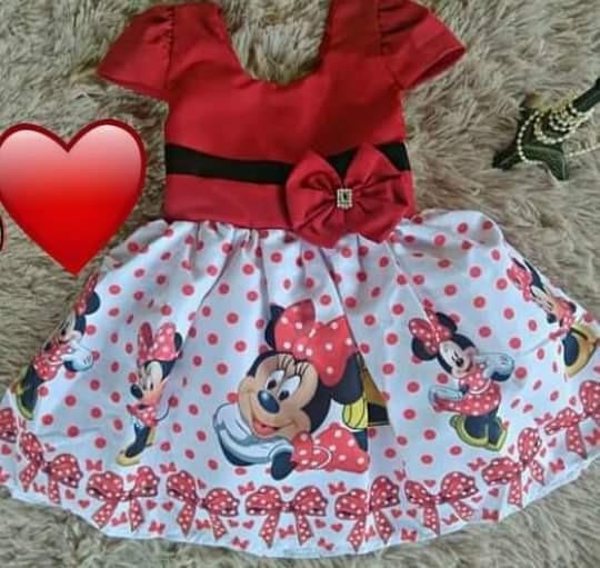 Vestido Festa Infantil Mynei