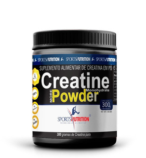 Creatina Pure Micronized Powder 300g Sports Nutrition