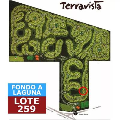 Lote Fondo Laguna En Terravista - Unico!!!