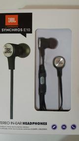 Fone In-ear Jbl E10 *pronta Entrega*